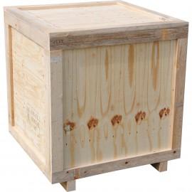 Caisse bois contreplaqué produit lourd sur mesure
